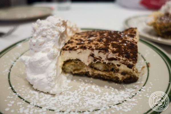 Tiramisu at Rocco Steakhouse in NoMad, NYC