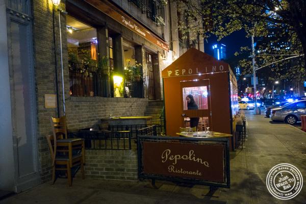 Pepolino in TriBeCa, NYC
