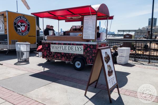 Waffle de Lys at Pier 13 in Hoboken, NJ