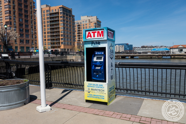 ATM for Food Trucks at Pier 13 in Hoboken