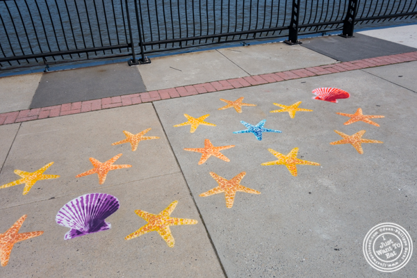 Fnnch's art work at Pier 13 in Hoboken, NJ