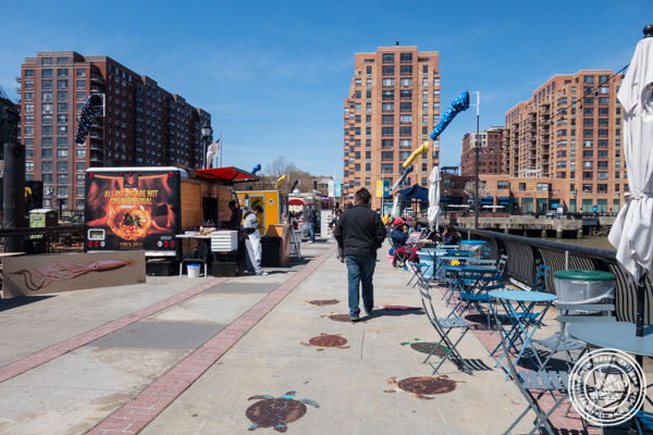 Food Trucks at Pier 13 in Hoboken