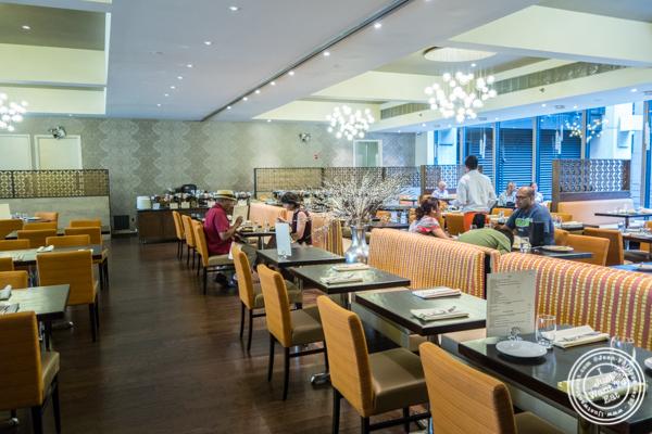 Dining room at Utsav, Indian restaurant Midtown Manhattan