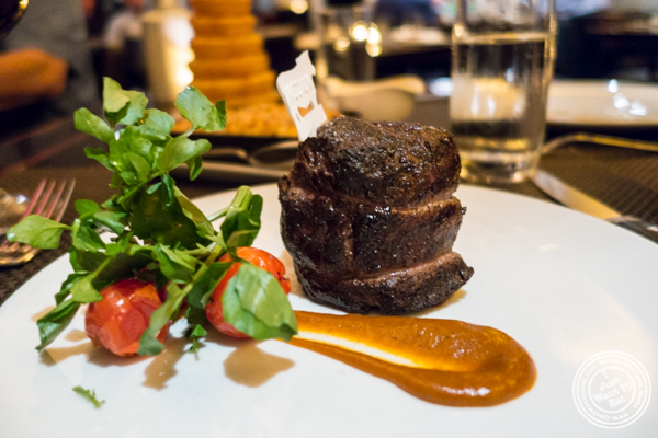 Filet mignon at BLT Prime in NYC, New York