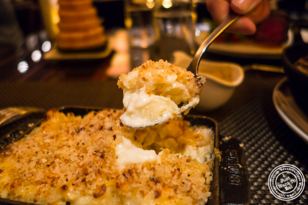 Mac and cheese at BLT Prime in NYC, New York