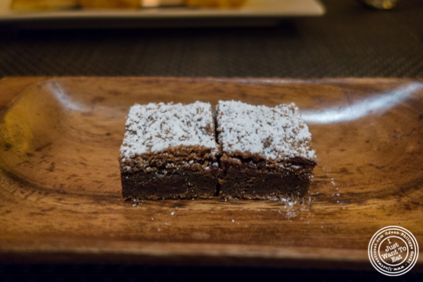 Brownies at BLT Prime in NYC, New York