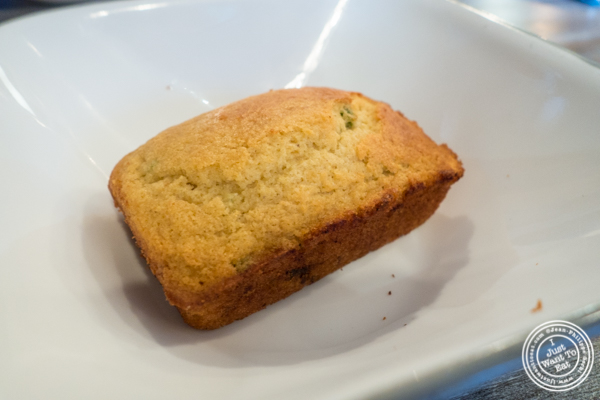 Jalapeno corn bread at Roast Homestyle Chicken in East Harlem, NYC