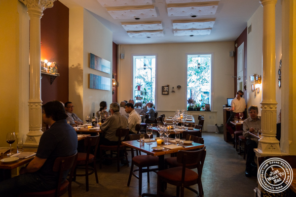 Dining room at Russet in Philadelphia, PA