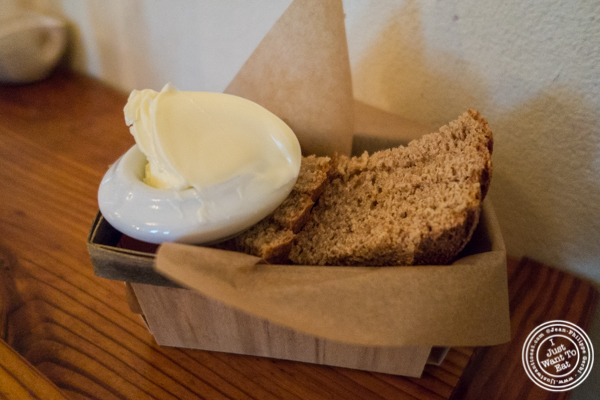 Bread and butter at Russet in Philadelphia, PA