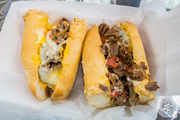 Carmen's Classic Cheesesteak at The Reading Market in Philadelphia, PA