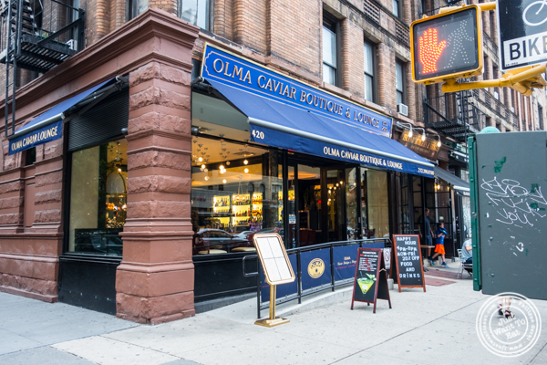 Olma Caviar Boutique & Lounge on the Upper West Side, NYC