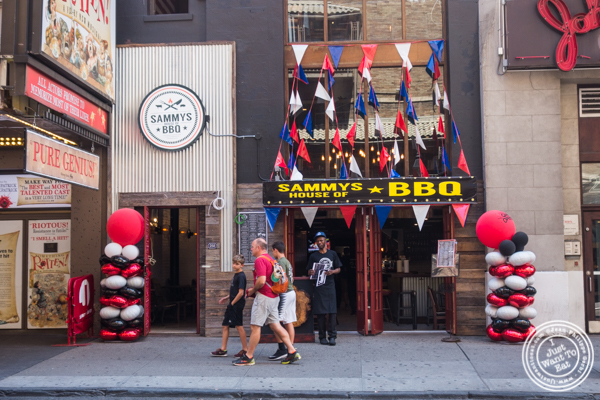 Sammy's House of BBQ in Times Square, NYC