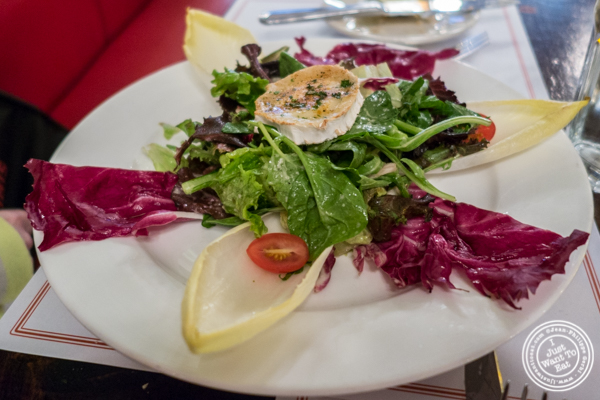 Salade de chevre chaud at Cafe 123 in Times Square, NYC