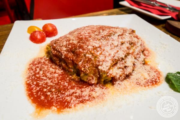 Lasagna della Nonna at Romagna Ready 2 Go in Greenwich Village, NYC