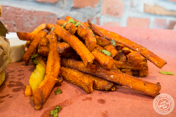 Sweet potato fries at The Brooklyn Tree in New York