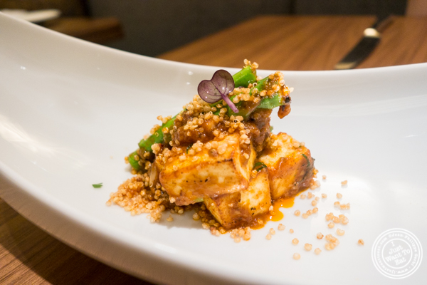 Paneer and Quinoa at Indian Accent at The Parker Meridien, NYC