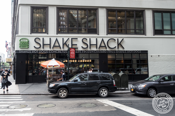 Shake Shack on 36th street in Manhattan