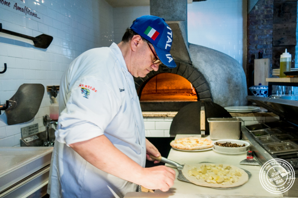 Executive Chef Giovanni Vittorio Tagliafierro at Tutti Matti in Long Island City, Queens