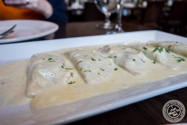 Ravioli al porcini at Tutti Matti in Long Island City, Queens