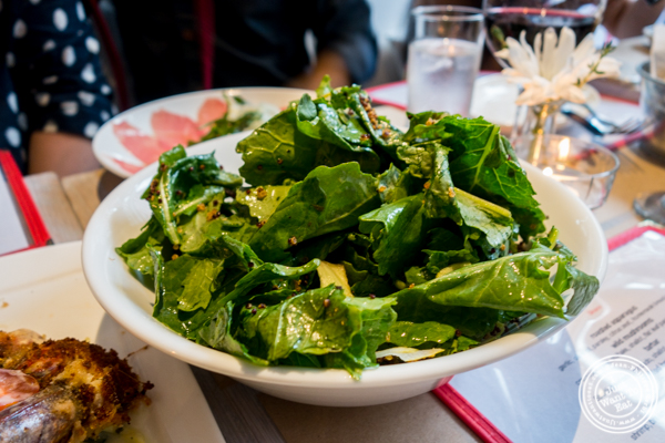 Baby Kale salad at Bread in Lolita, NYC