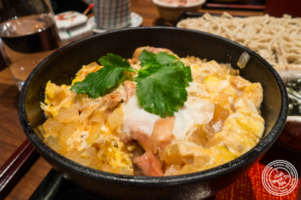 Chicken and rice at Ootoya Times Square, NYC, New York