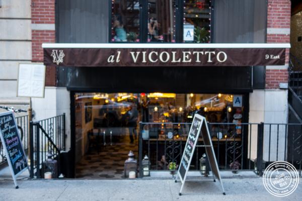 Al Vicoletto near Union Square, NYC