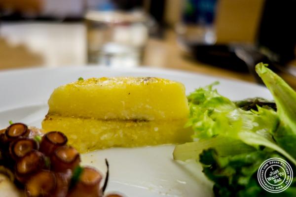 Grilled Polenta at Al Vicoletto near Union Square, NYC