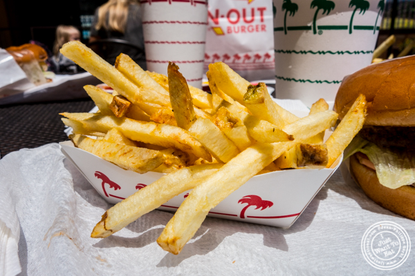 French fries at In-N-Out Burger in San Francisco, CA