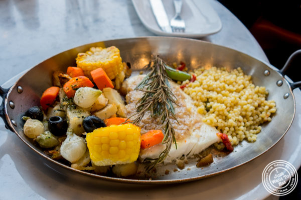 Halibut at The Franciscan Crab Restaurant in San Francisco, California