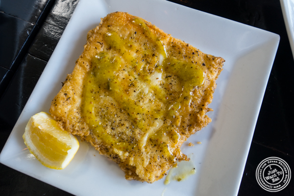 Saganaki at Avlee Greek Kitchen in Brooklyn, NY