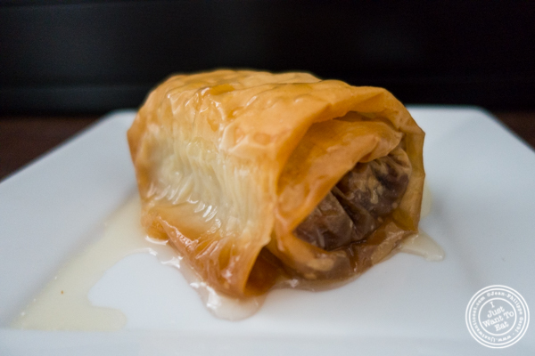 Homemade baklava at Avlee Greek Kitchen in Brooklyn, NY