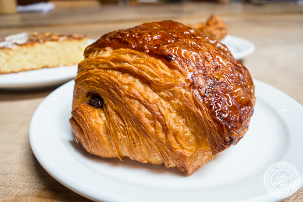 Valrhona chocolate croissant at Sightglass Coffee in San Francisco, CA