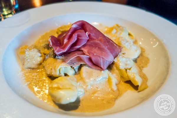 Tortelloni alla paesana at Ideale in San Francisco, CA