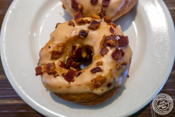 Maple bacon donut at Dynamo Donut + Coffee in San Francisco, CA