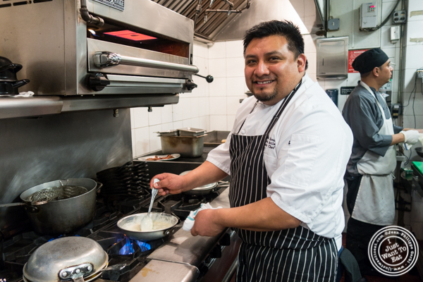 Chef Armando Avila at The Malt House in NYC, NY