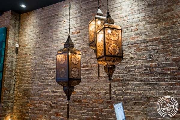 Lamps at Samui in Fort Greene, Brooklyn