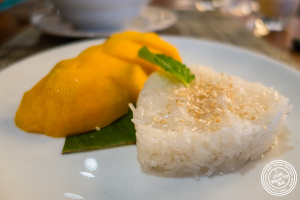 Mango sticky rice at Samui in Fort Greene, Brooklyn