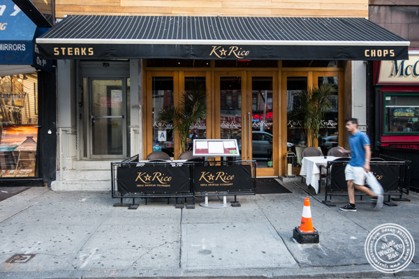 K Rico, South American Steakhouse in NYC, NY