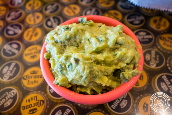 Side of guacamole at El Centro in Hell's Kitchen, NYC