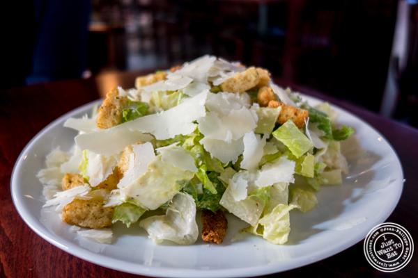 Caesar salad at Urban Coalhouse Pizza and Bar in Hoboken, NJ