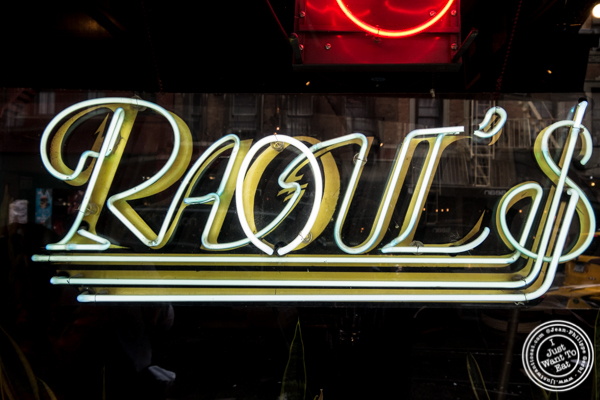 Raoul's, French Restaurant in NYC, NY