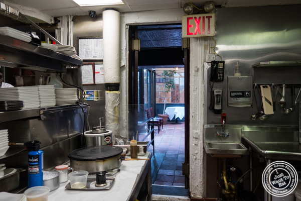Kitchen at Raoul's, French Restaurant in NYC, NY