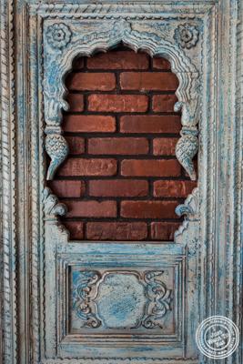 Door at Dilli Junction in Hoboken, NJ