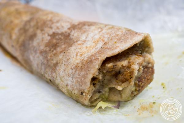 Shami kebab at Dilli Junction in Hoboken, NJ