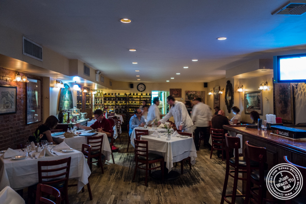 Dining room at Bistecca Fiorentina in NYC, NY