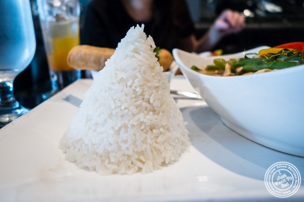 Rice at Room Service in Hell's Kitchen, NYC