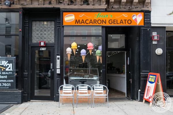 Jun's Macaron Gelato in Hoboken, NJ