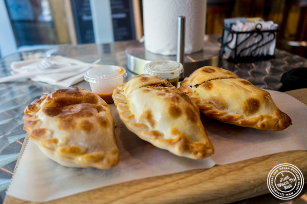 Empanadas at Empanadas Café in Hoboken, NJ