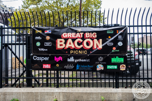 The Great Big Bacon Picnic in Williamsburg, Brooklyn
