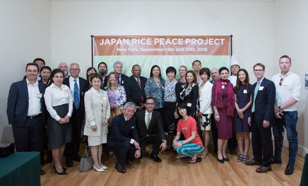 Group photo for Japan Rice Peace Project seminar - Courtesy of The Santos Marketing Group
